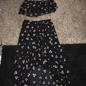 Floral American Eagle two piece